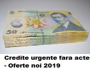 Credit online fara acte 2019